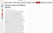 El lado oscuro de Mickey Mouse
